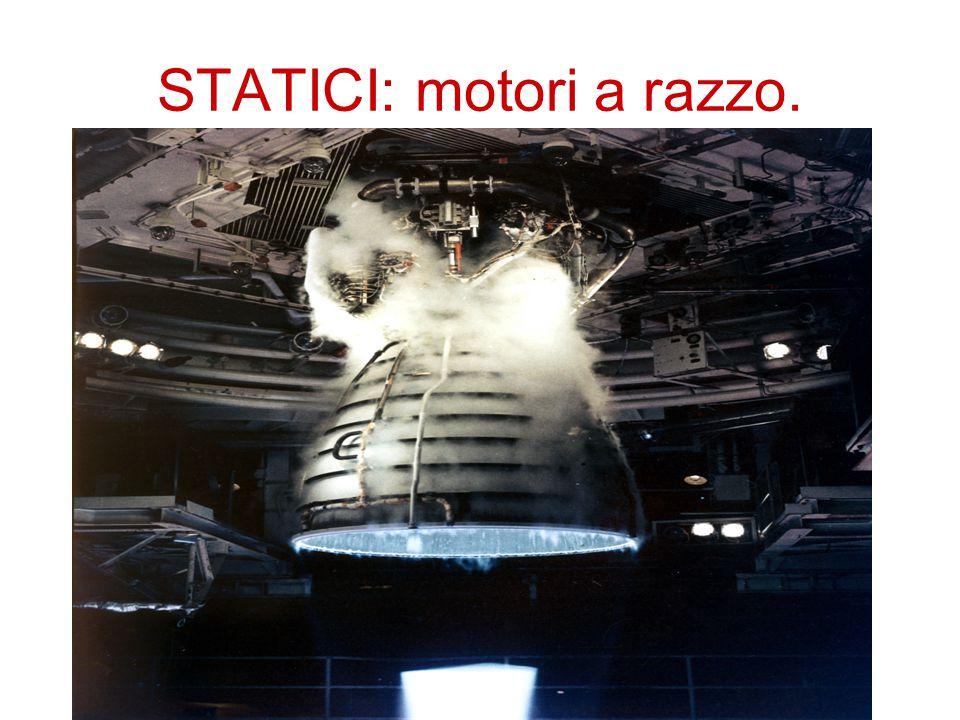 STATICI: motori a razzo.