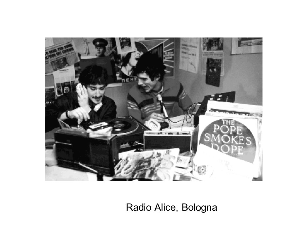 Radio Alice, Bologna