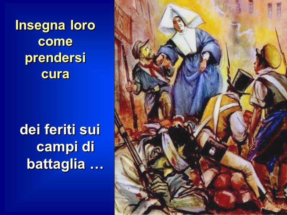 VINCENZO conosciuta la volontà di Dio lancia LUISA tra i poveri e le affida la Comunità nascente delle Figlie della Carità. LUISA si dedica allora, in