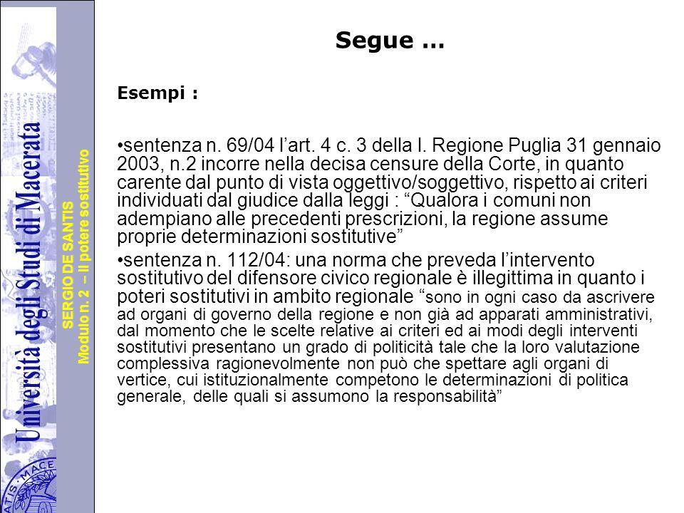 Università degli Studi di Perugia Modulo n.