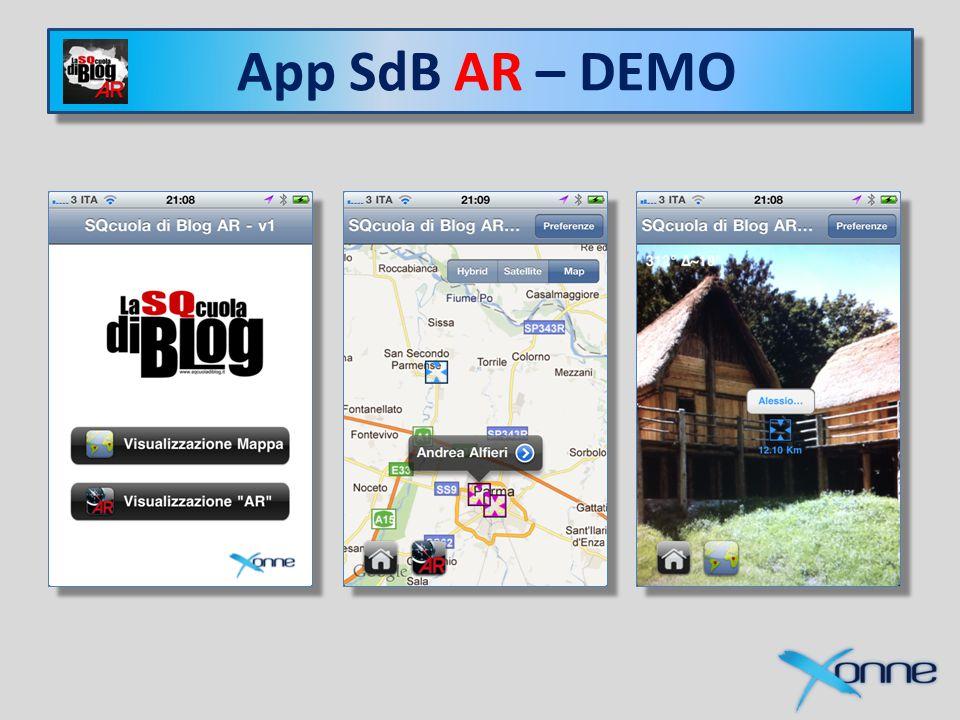 Xonne e SQcuola di Blog App SdB – DEMO App SdB AR – DEMO
