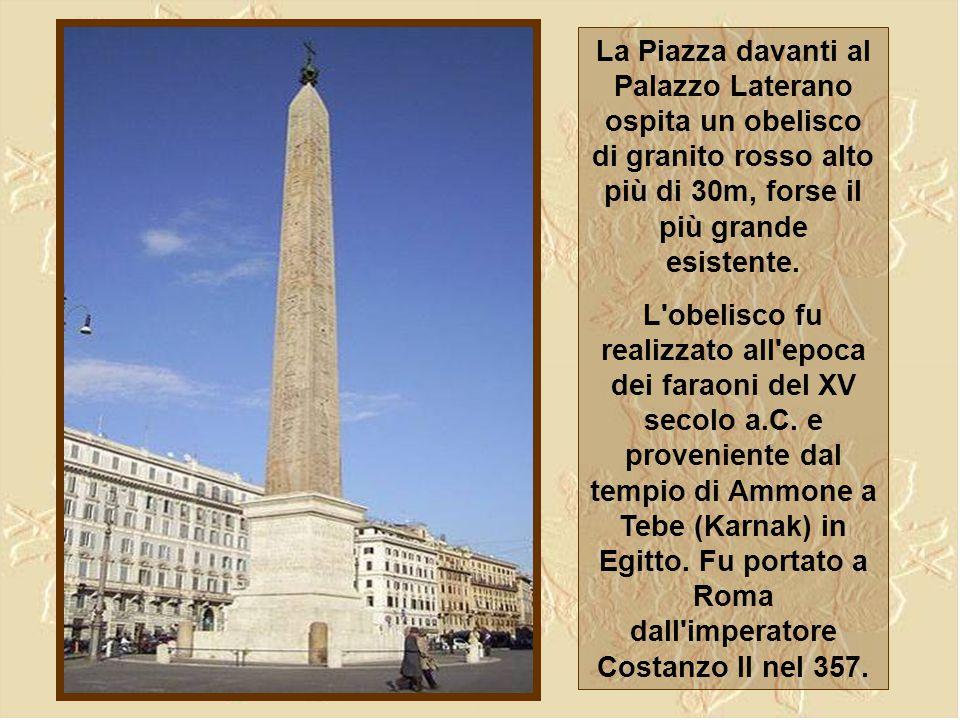 Porta S.Giovanni deve il suo nome alla vicina basilica di S. Giovanni in Laterano e, come si può osservare nella foto sopra, consiste in un grande arc