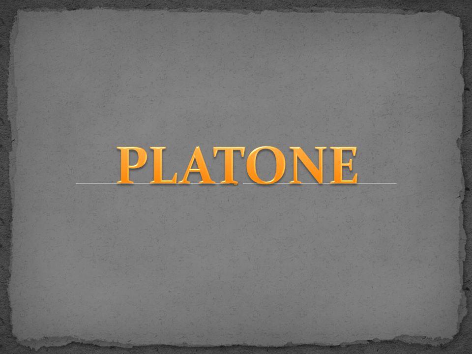Platone nasce ad Atene nel 427 a.C.; di sangue nobile da parte della madre, a vent anni avviene l evento fondamentale della sua vita, l incontro con Socrate.