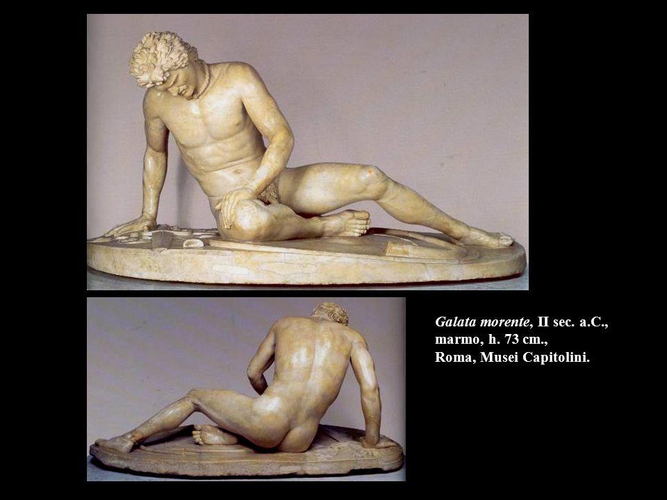 Fauno Barberini, II sec. a.C., marmo, h. 215 cm. Monaco, Glyptothek.