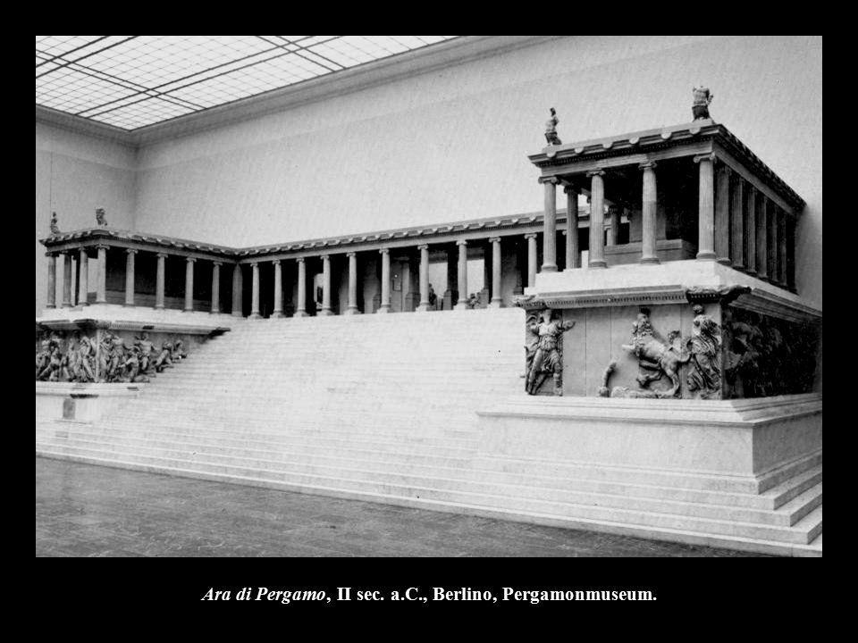 Ara di Pergamo, II sec. a.C., Berlino, Pergamonmuseum.