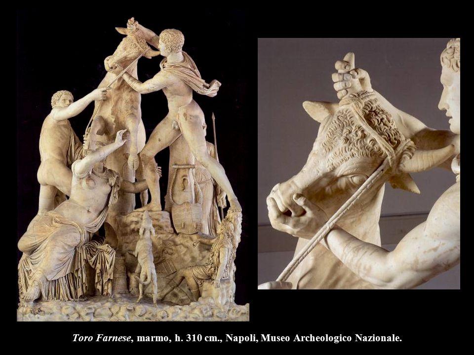 Laocoonte, II-I sec. a.C., h. 242 cm., Roma, Musei Vaticani.