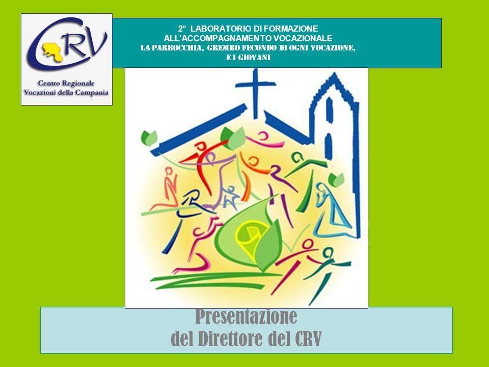2° LABORATORIO DI FORMAZIONE ALL ACCOMPAGNAMENTO VOCAZIONALE La parrocchia, grembo fecondo di ogni vocazione, e i giovani Presentazione del Direttore del CRV