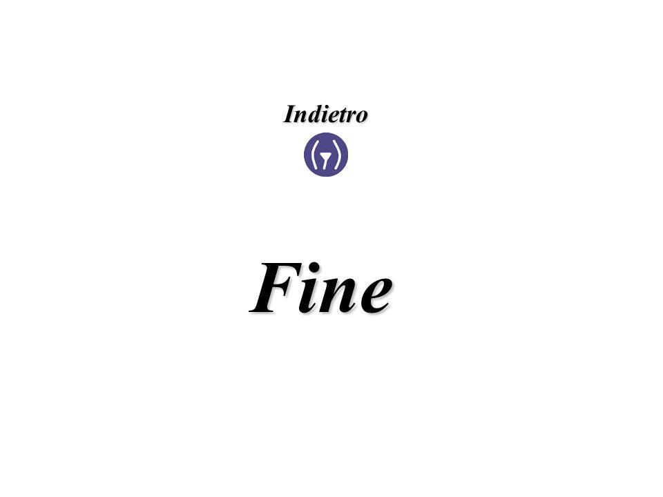 Fine Indietro