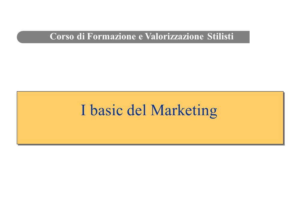 I basic del Marketing Corso di Formazione e Valorizzazione Stilisti