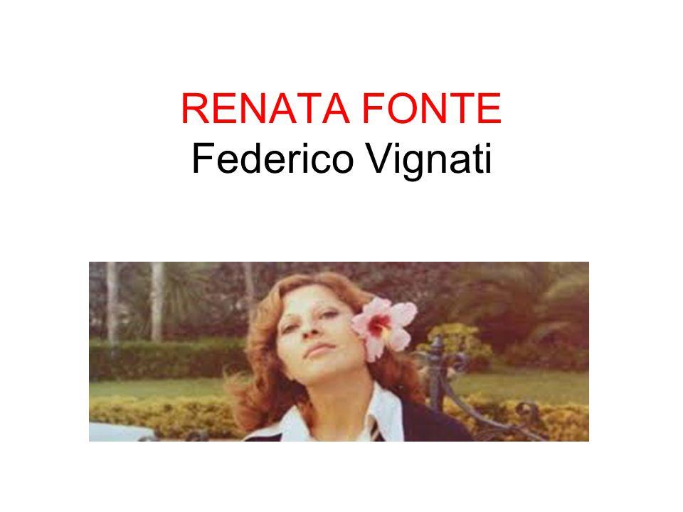 RENATA FONTE Federico Vignati