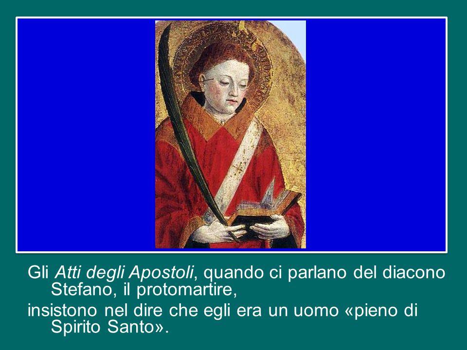 Vogliamo guardare ai nuovi Santi alla luce della Parola di Dio proclamata.