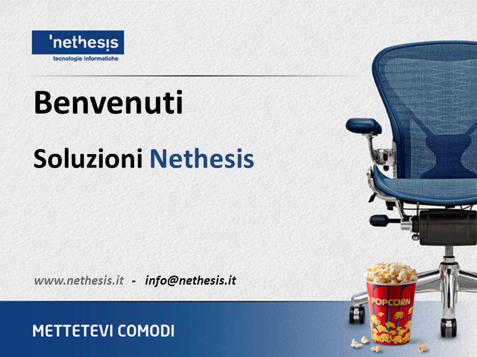 Soluzioni Nethesis Benvenuti www.nethesis.it - info@nethesis.it
