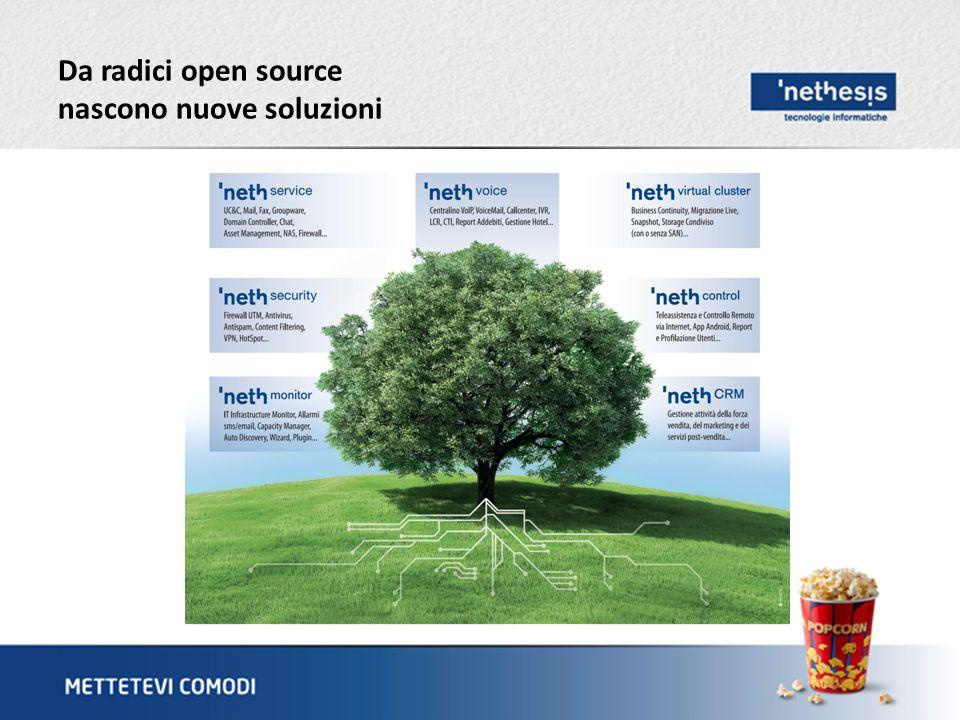 Da radici open source nascono nuove soluzioni