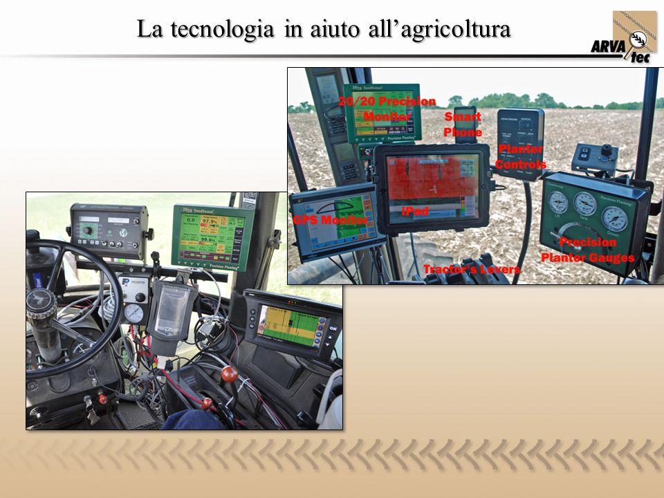 La tecnologia in aiuto all'agricoltura