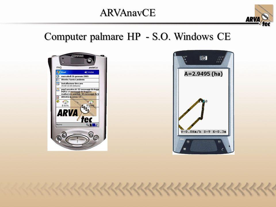 ARVAnavCE ARVAnavCE Computer palmare HP - S.O. Windows CE Computer palmare HP - S.O. Windows CE