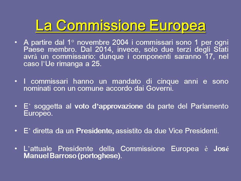 Il Parlamento Europeo E ' composto da 17 commissioni permanenti, che elaborano il parere del Parlamento in merito ai vari campi d ' attivit à di interesse comunitario: 1.