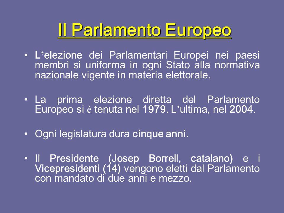 Il Parlamento Europeo Nasce dalla fusione tra l ' assemblea comune della CECA, l ' assemblea della CEE e l ' assemblea della Euratom.