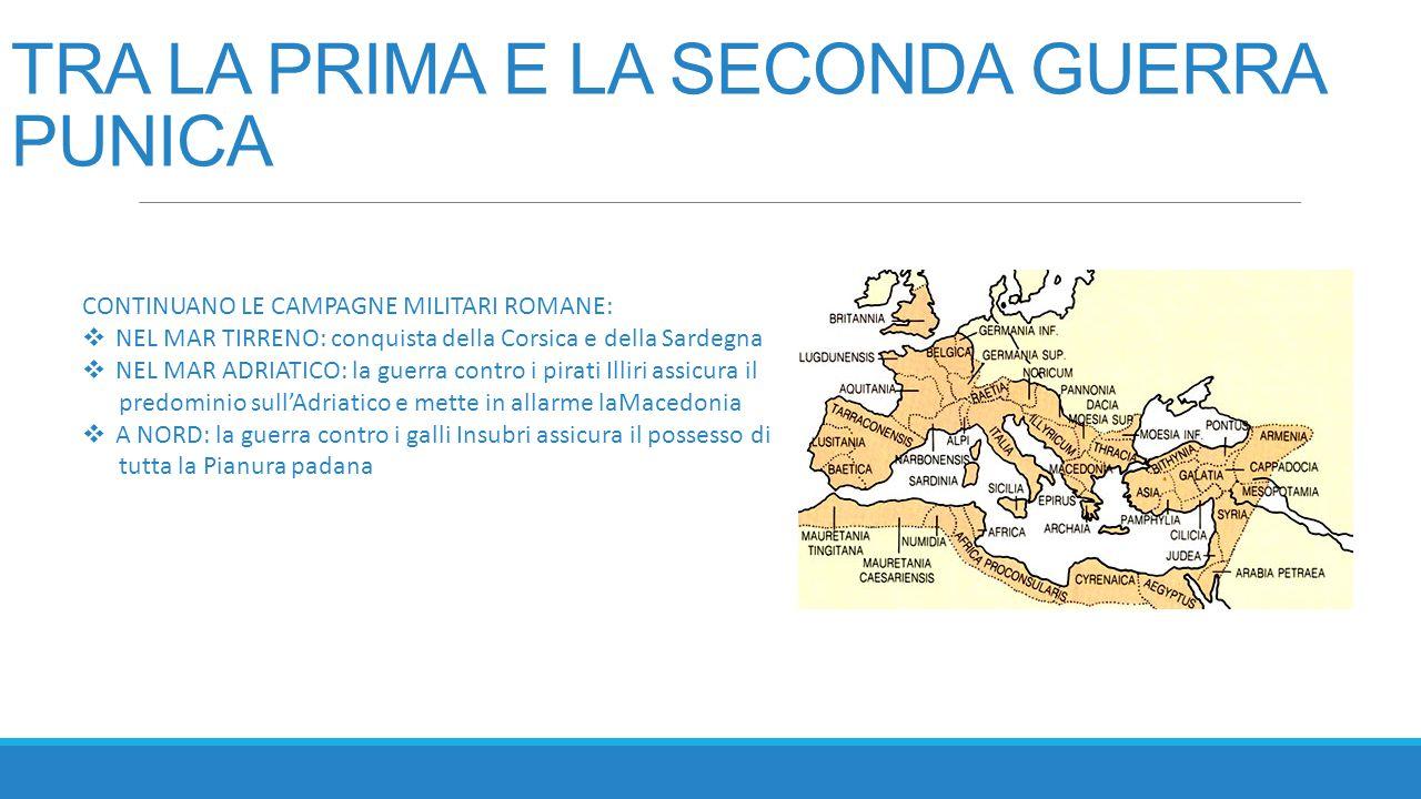 LA SECONDA GUERRA PUNICA 218-202 a.C.