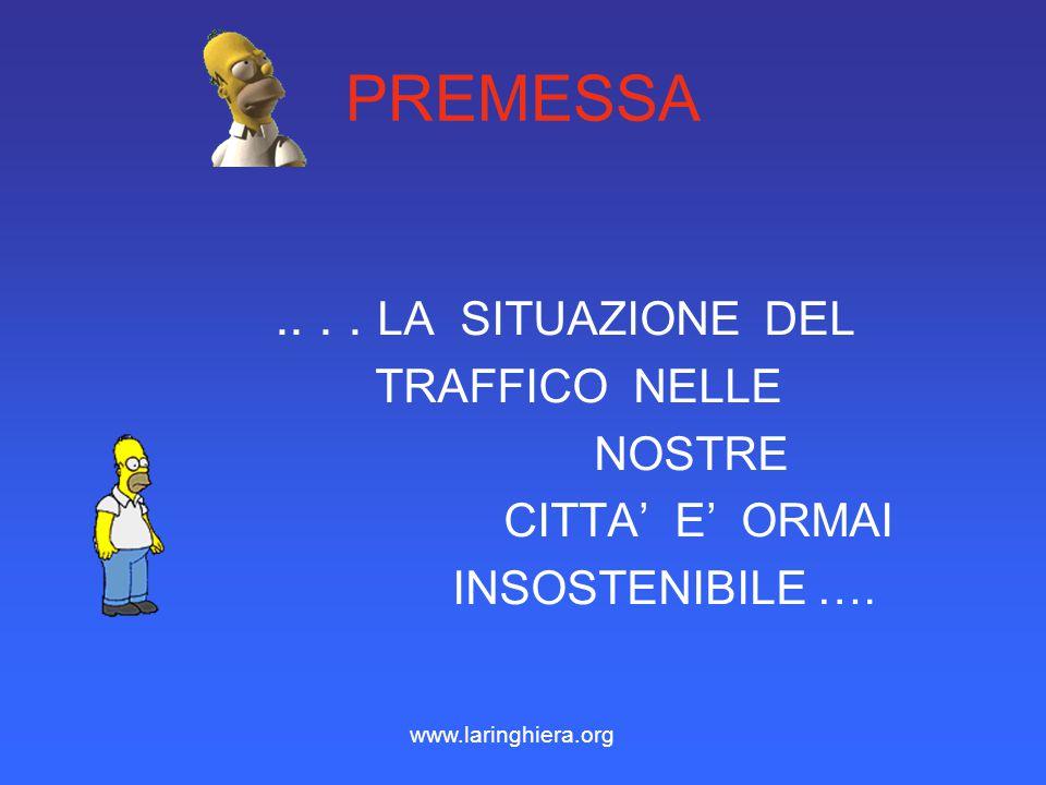 CAR-POOLING CAR-POOLING MENO AUTOMOBILI MENO TRAFFICO MENO STRESS… COME ??? www.laringhiera.org