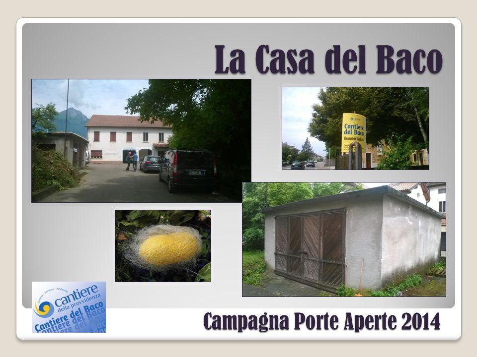 Campagna Porte Aperte 2014 La Casa del Baco