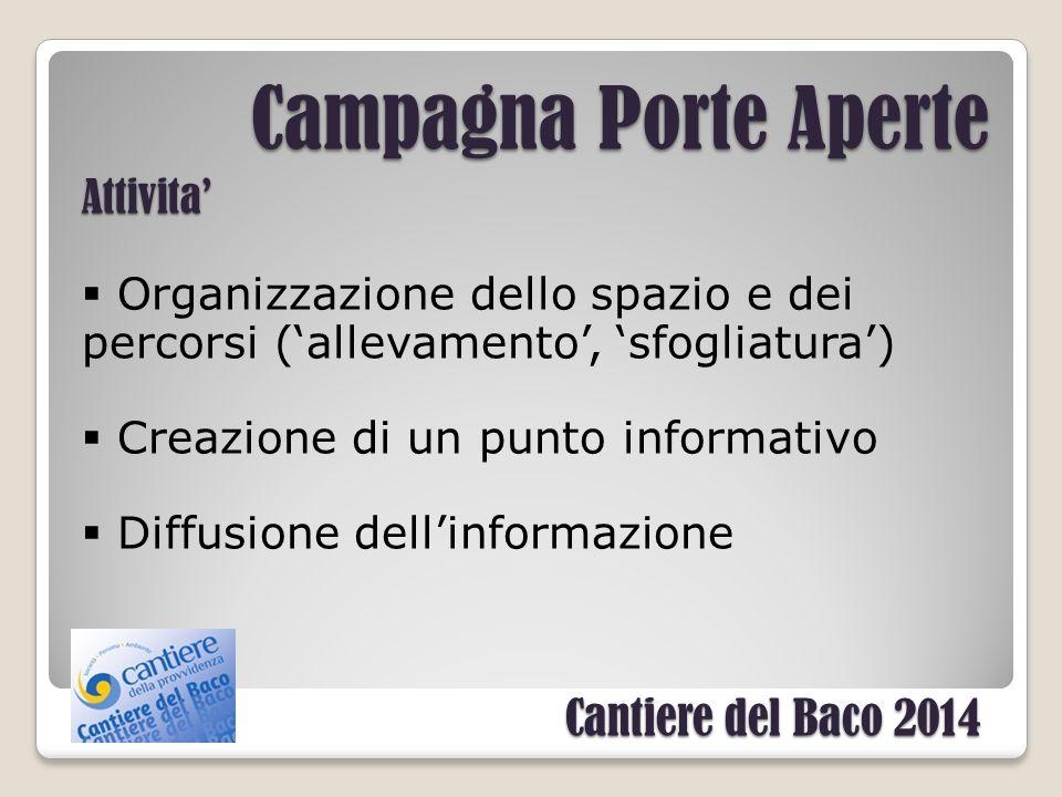 Campagna Porte Aperte 2014