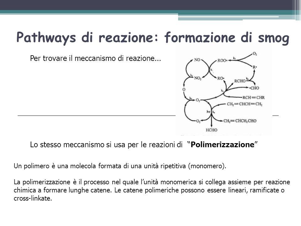 """Per trovare il meccanismo di reazione... Lo stesso meccanismo si usa per le reazioni di """"Polimerizzazione"""" Un polimero è una molecola formata di una u"""