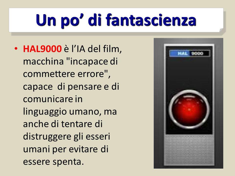 HAL9000 è l'IA del film, macchina