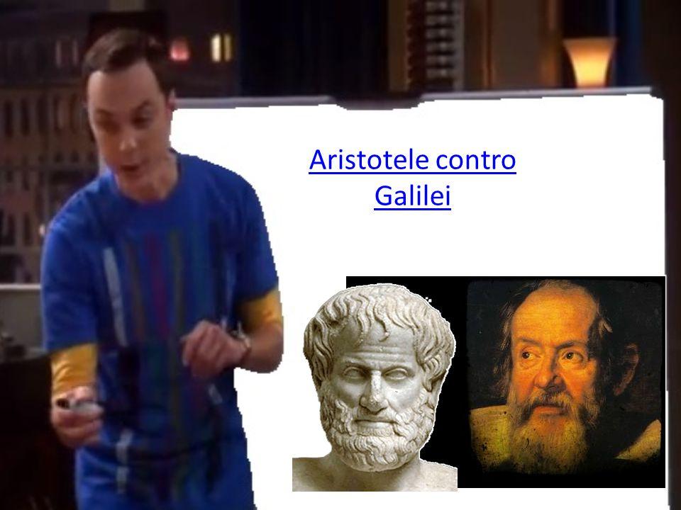 Aristotele contro Galilei