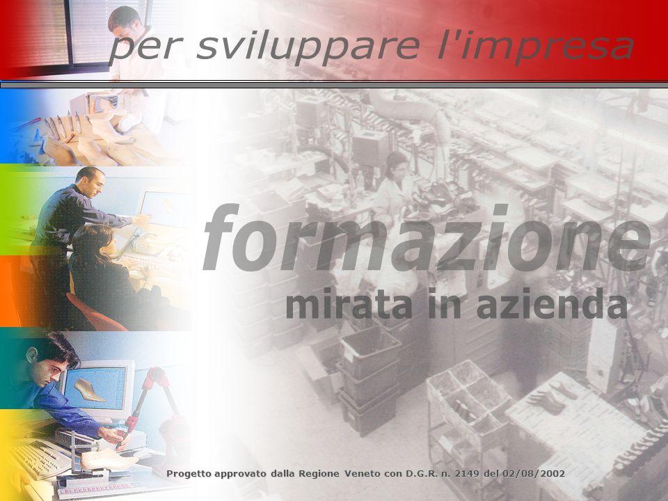 Progetto approvato dalla Regione Veneto con D.G.R. n. 2149 del 02/08/2002