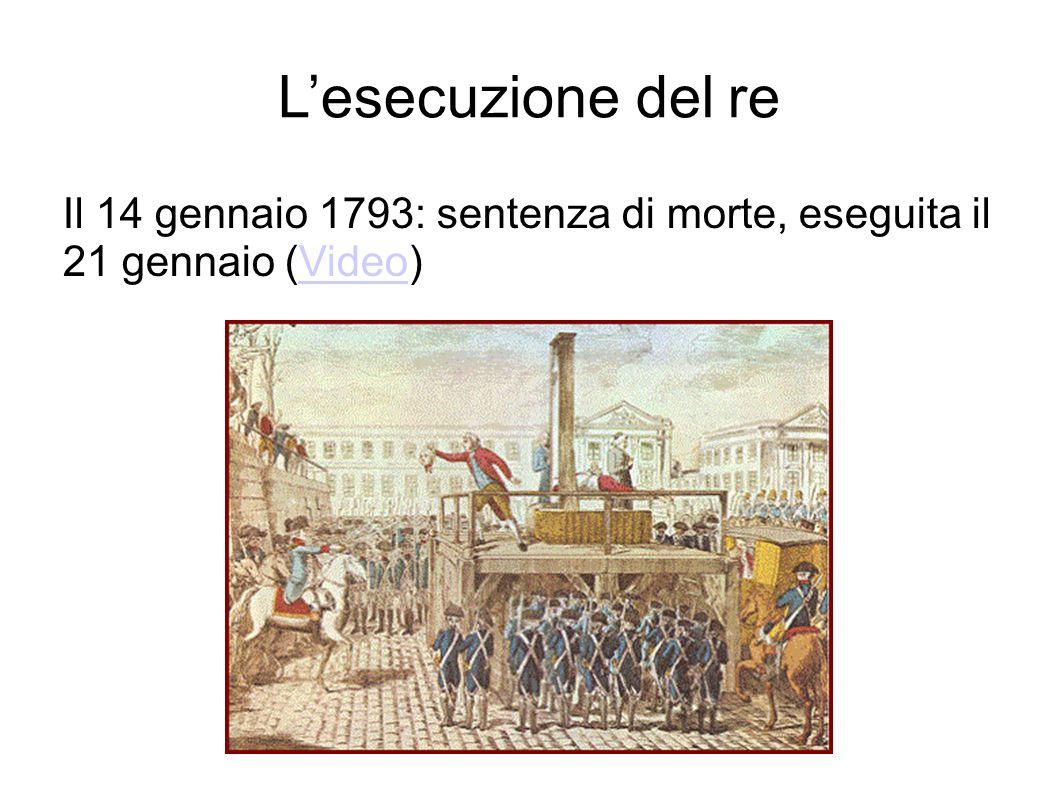 L'esecuzione del re Il 14 gennaio 1793: sentenza di morte, eseguita il 21 gennaio (Video)Video