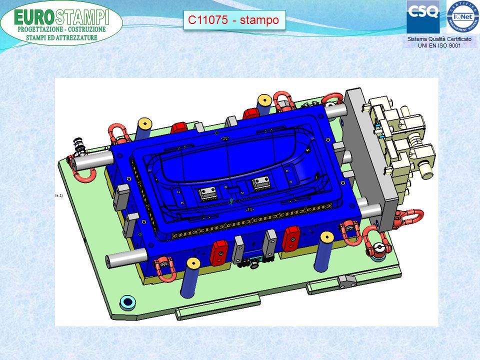 Sistema Qualità Certificato UNI EN ISO 9001 C11075 - stampo