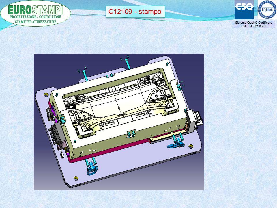Sistema Qualità Certificato UNI EN ISO 9001 C12109 - stampo