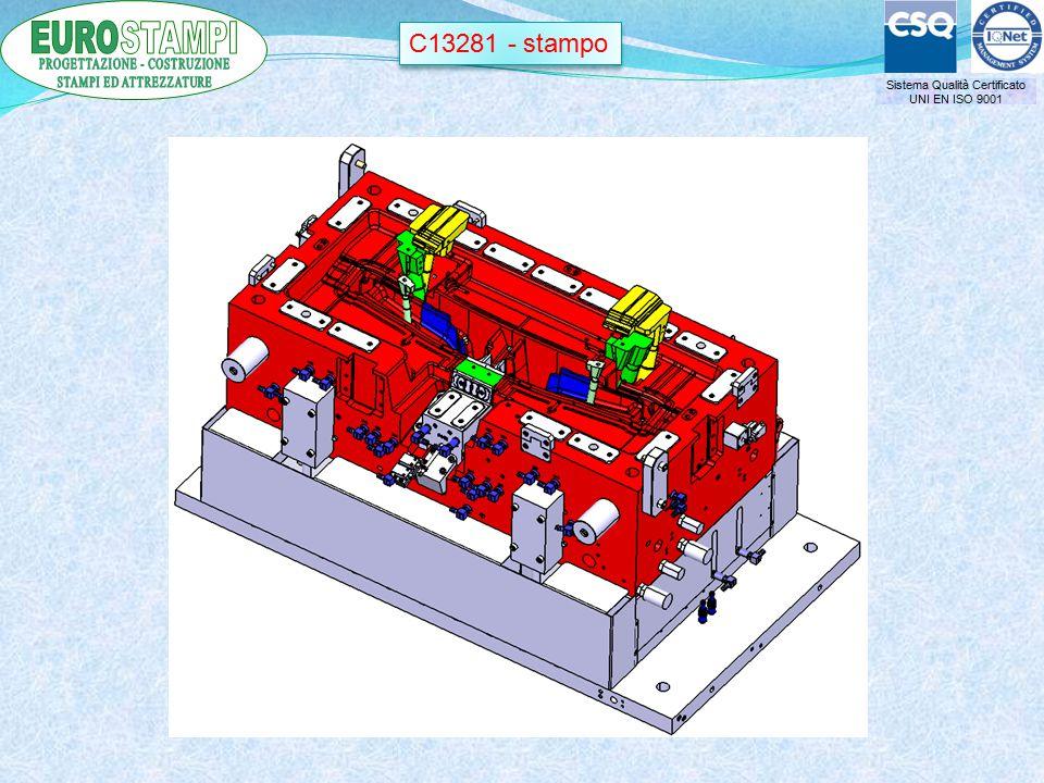 Sistema Qualità Certificato UNI EN ISO 9001 C13281 - stampo