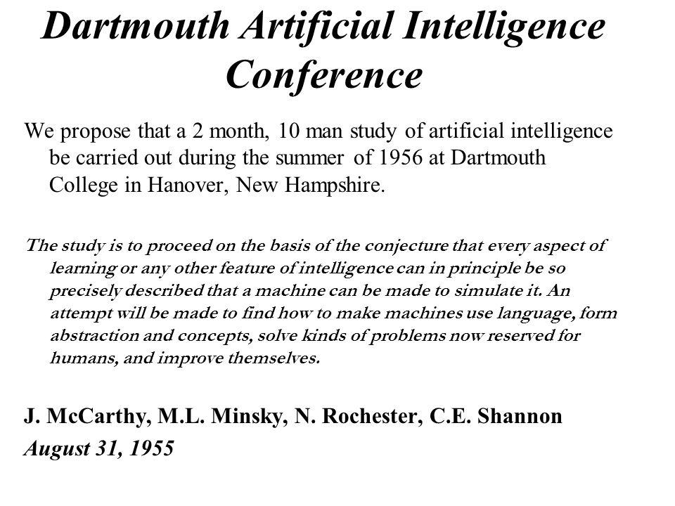 Intelligenza Artificiale Il problema ancora da risolvere è: Qual è il corretto livello di astrazione della mente umana per costruire un modello mentale che debba successivamente guidare le azioni di una macchina intelligente?