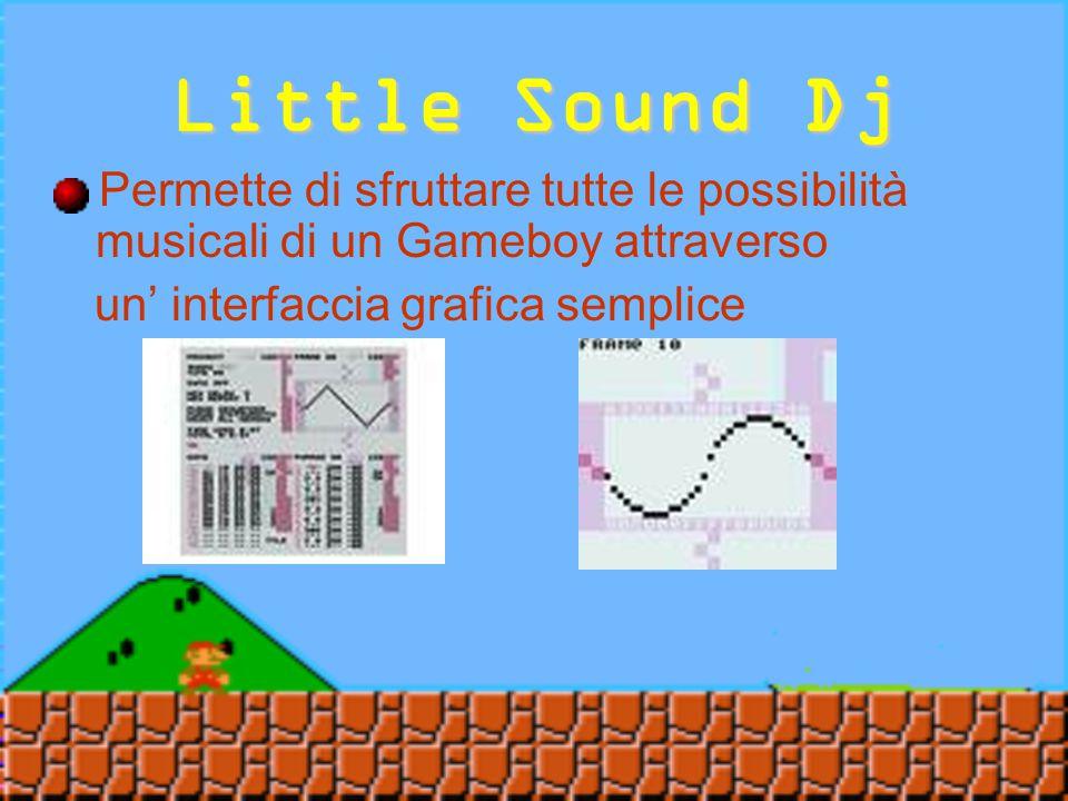 Little Sound Dj E'capace di trasformare un Gameboy in un sintetizzatore musicale a 8 bit