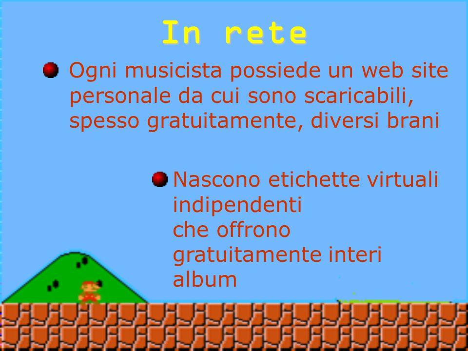 Migliaia di appassionati, dai quattro angoli del pianeta, hanno cominciato a diffondere i propri brani fatti col Gameboy Per la prima volta dei musicisti sfruttano le caratteristiche di orizzontalità e simultaneità del web In rete