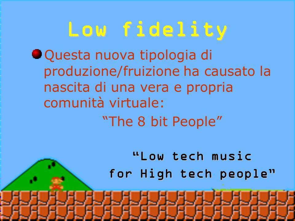 Low fidelity Diffusa: in rete distribuzione autonoma scambio di brani (www.micromusic.net)