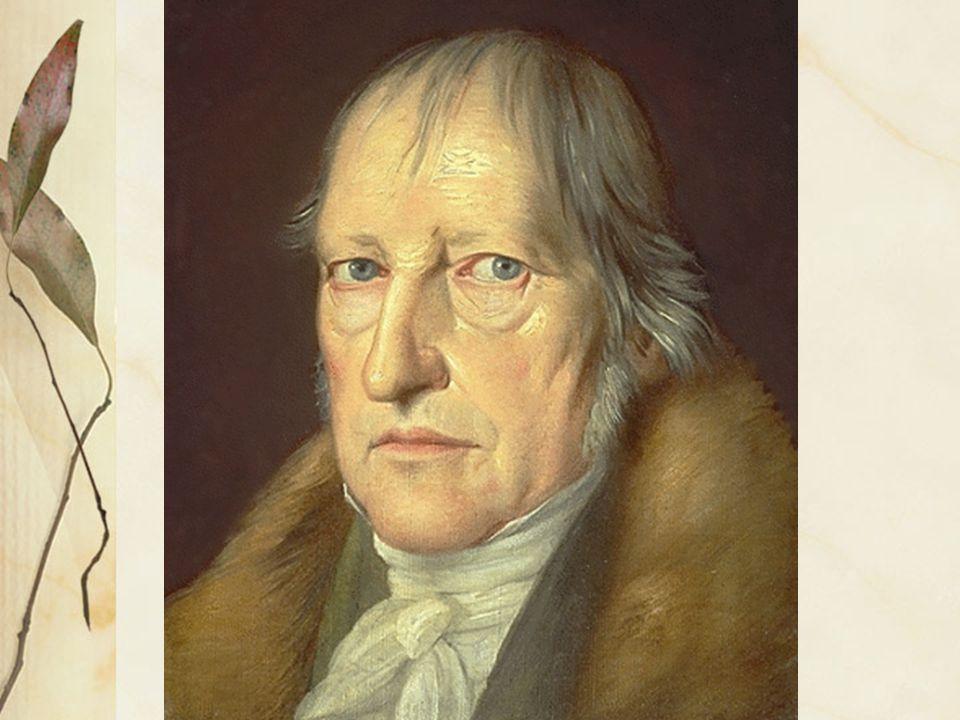 Formazione Georg Wilhelm Friederich Hegel nasce a Stoccarda (Württemberg) nel 1770.