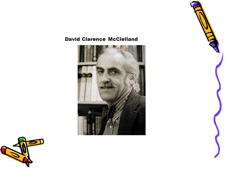 David Clarence McClelland