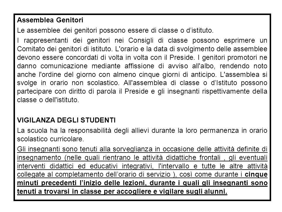 STATUTO DELLE STUDENTESSE E DEGLI STUDENTI (D.P.R.
