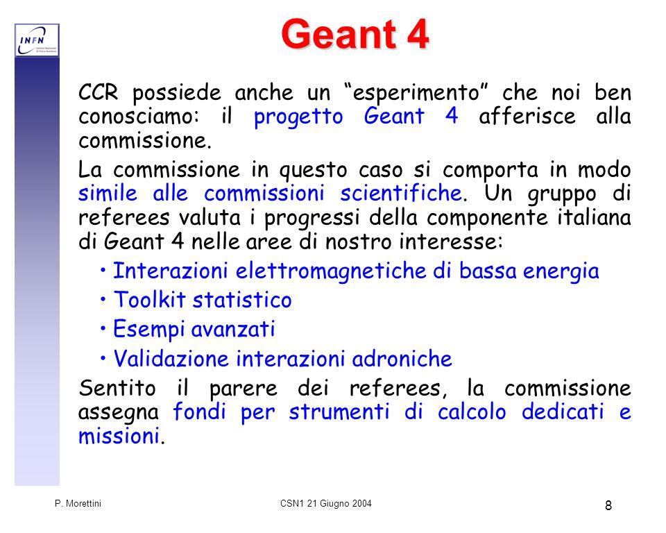 CSN1 21 Giugno 2004 P.