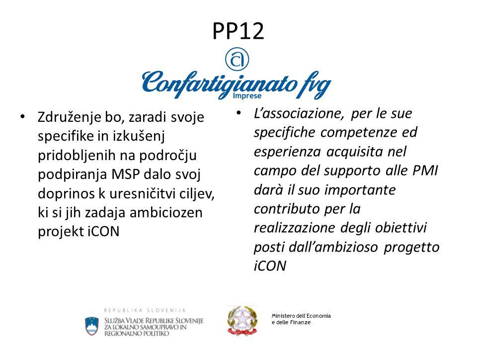 PP12 Ministero dell Economia e delle Finanze Via del Coroneo n.6 34133 Trieste Tel.