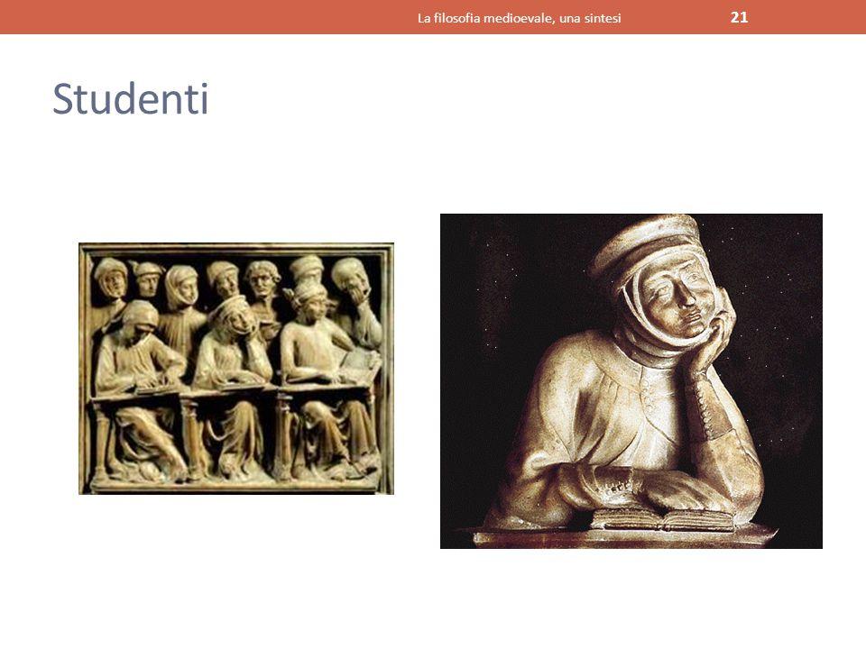 Studenti La filosofia medioevale, una sintesi 21