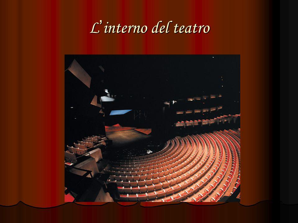 L ' interno del teatro