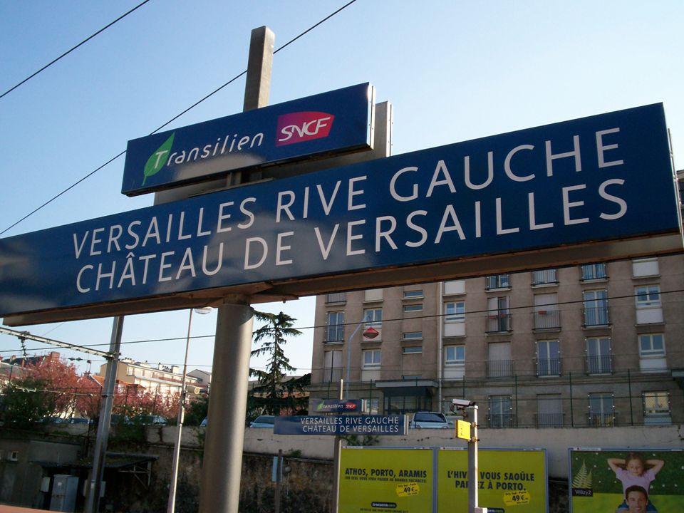 Si tratta della rivisitazione del Castello attraverso la RER C. Entro la fine dell'anno, 4 treni che vanno a Versailles saranno decorati con immagini