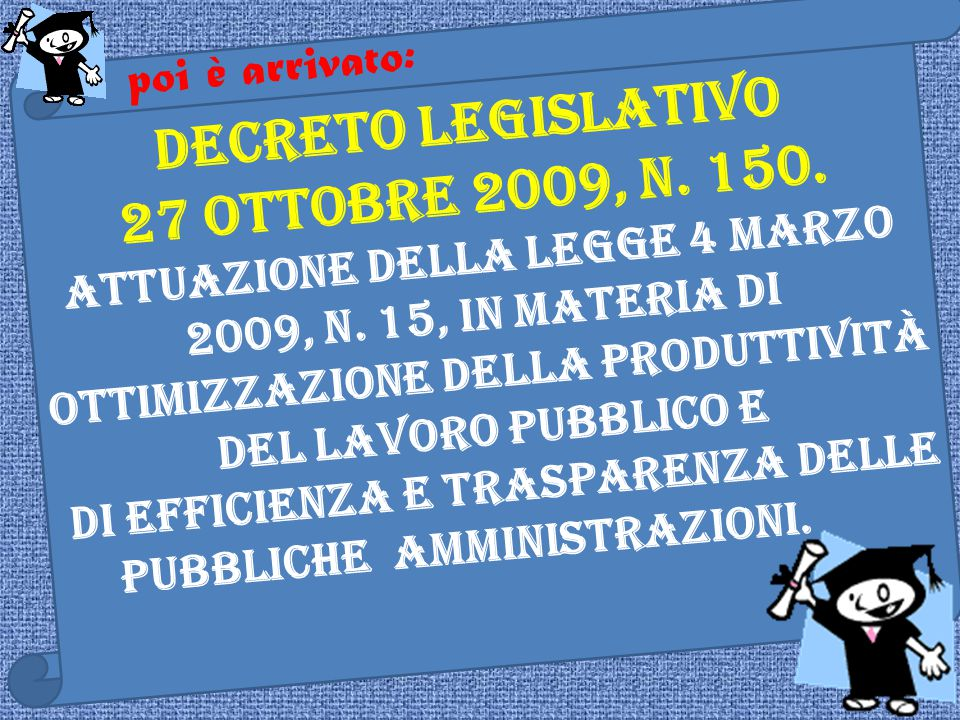 Prima ci sono stati: DECRETO DEL PRESIDENTE DELLA REPUBBLICA 28 dicembre 2000, n.