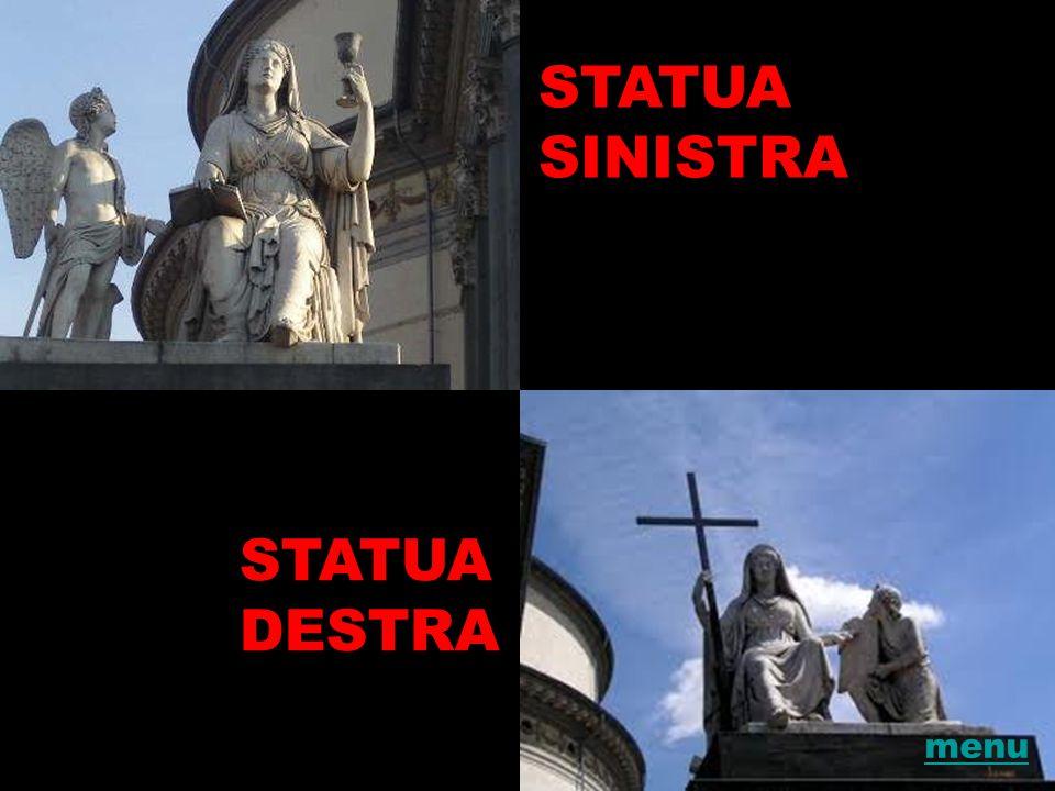 STATUA SINISTRA STATUA DESTRA