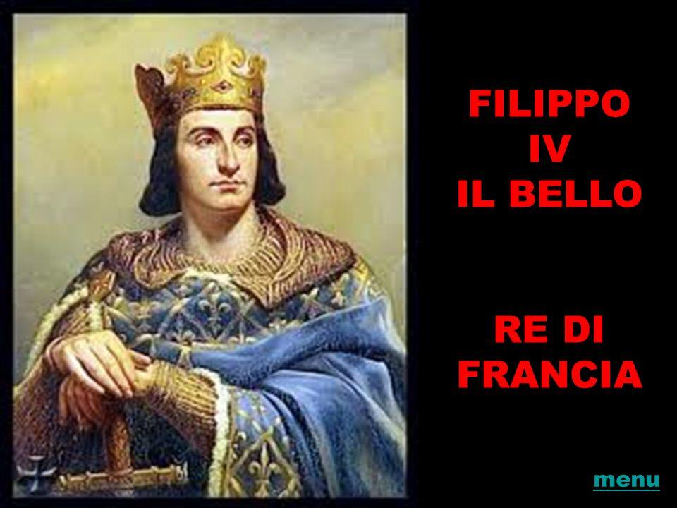 FILIPPO IV IL BELLO RE DI FRANCIA
