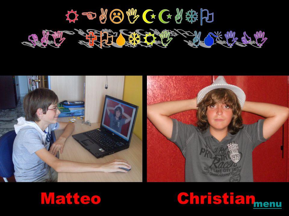 MatteoChristian menu