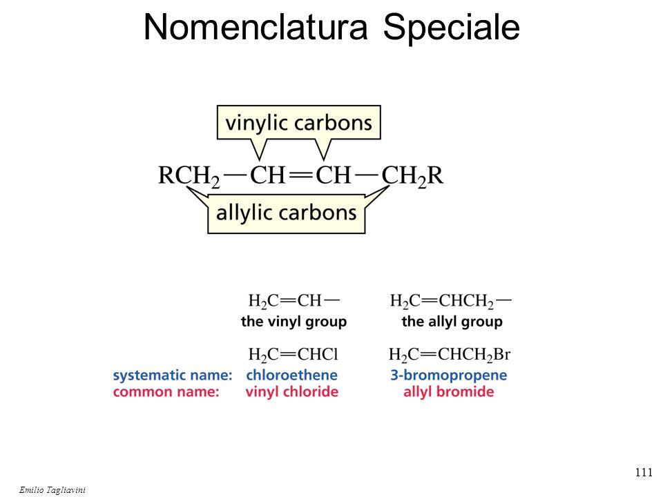 Emilio Tagliavini Chimica Organica TeCoRe - 2007/08 112 Struttura degli Alcheni